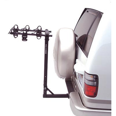 CAR RACK, HOLLYWOOD HR6000 TRAVELER 2 inch, 3 BIKE